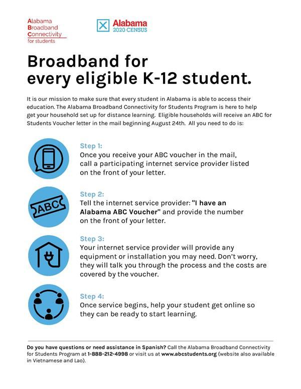 Free Internet Connectivity for Students